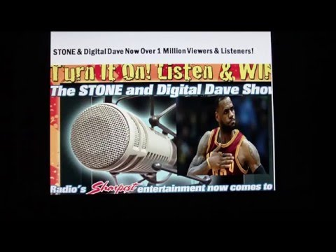 Lebron James The MOST Overrated NBA Player EVER!  Only On STONE & Digital Dave