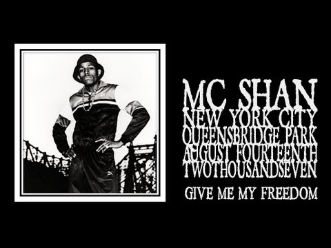 Mc Shan - Give Me My Freedom (queensbridge Park 2007) video