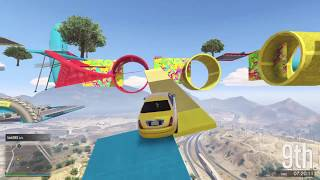 LIVE - Sunday Parkour w/PurpleHaze - Come Join - (GTA 5 Funny Moments)
