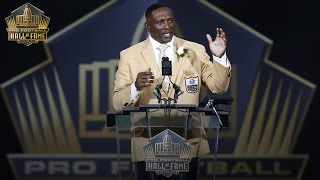 Tim Brown's 2015 Pro Football Hall of Fame speech