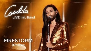 Conchita LIVE mit Band – Firestorm  (review video)