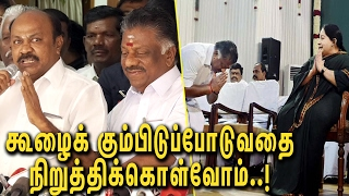 Family, and pursue a criminal case against Sasikala