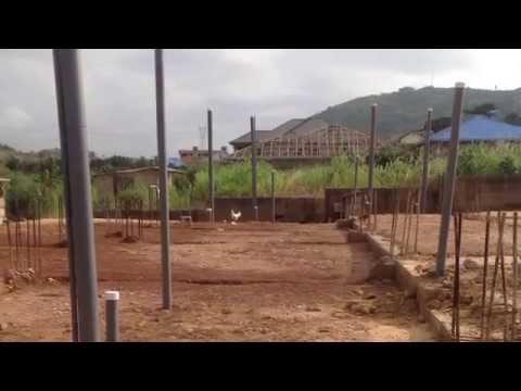 Building in Ghana Update: Plumbing Complete