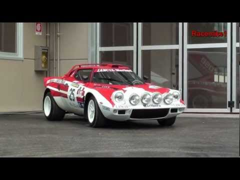 Lancia Stratos - 40th anniversary compilation - Rally Legend 2011 - Pure Engine Sound !
