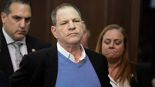 Harvey Weinstein appears in court on rape and sex assault charges | ITV News
