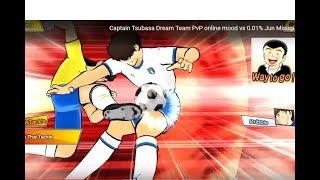 Captain Tsubasa Dream Team PvP online mood vs 0.01% Jun Misugi