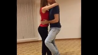 Kizomba New Style - Demo after Workshop, Nadine & Martin (Belarus/Switzerland)
