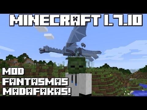 Minecraft 1.7.10 MOD FANTASMAS MADAFAKAS