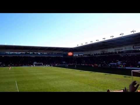 BLACKPOOL V DERBY COUNTY 27 APRIL 2013-LUDO'S GOAL