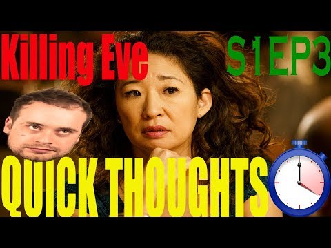 """Killing Eve - Episode 3 Review """"Don't I Know You?"""""""