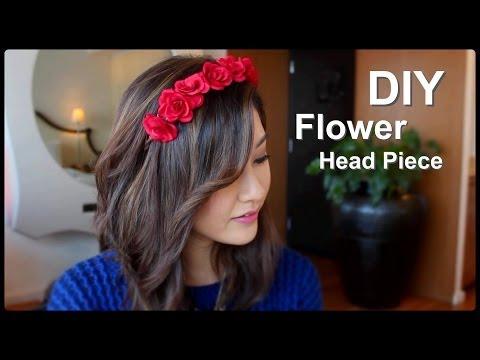 DIY Flower Crown Headband