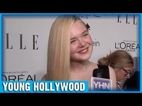 Elle Fanning's Tips for Long Luscious Hair!