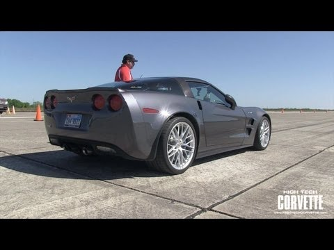 ZR1 running the Texas Mile