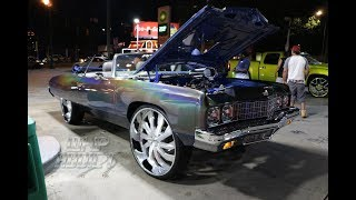 WhipAddict: Spectra Flair 73' Caprice Vert on Amani Forged 30s w/Custom Interior