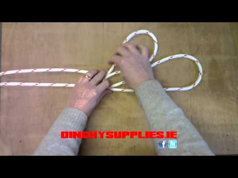 How to tie a Three-Part Crown Knot on a Bight - DINGHYSUPPLIES.ie