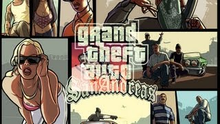 GTA SAN ANDREAS - ROLE NA QUEBRADA