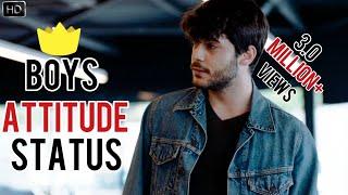 😎🔥BOYS ATTITUDE STATUS||ATTITUDE WHATSAPP STATUS||BAO RAMI STATUS🔥🔥||BAD BOY STATUS