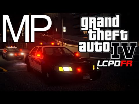 GTA 4 LCPDFR MP Patrol - Episode 4 - Late Night!