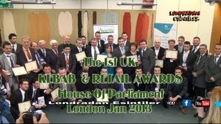FIRST KEBAB AWARDS AT PARLIAMENT JAN 2013 LONDON HD