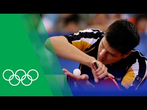 The story of the German Table Tennis team at Beijing 2008