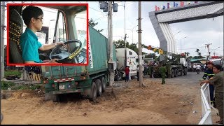 Lời khai của tài xế container trong vụ TN ở Tây Ninh làm 5 người ra đi
