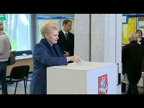 Lithuania: Grybauskaite eyes second term in presidential vote