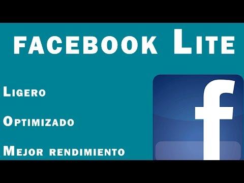Facebook Lite La nueva version [Mejor desempeño y ligero]