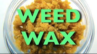 Smoking Marijuana Wax (VIDEO)