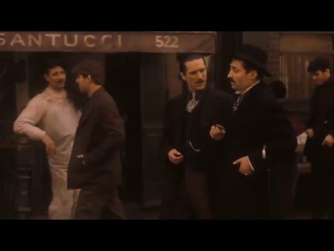 GODFATHER LANDLORD 'DOG STAYS ' SCENE  EPIC ROBERT DE NIRO- HD