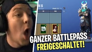 Alle SEASON 5 ITEMS gekauft | Fortnite | SpontanaBlack