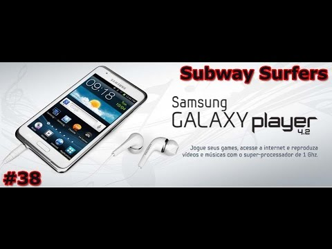 Gameplay Android - Subway Surf - Samsung Galaxy Player 4.2 - PT-BR