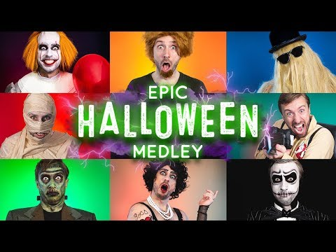 Epic Halloween Medley - Peter Hollens