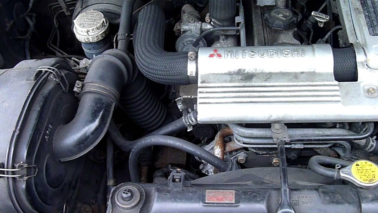 1996 Mitsubishi Shogun Pajero 2 8 Turbo Diesel Engine