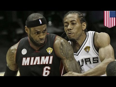 NBA Finals 2014: Spurs obliterate the Heat behind MVP Kawhi Leonard