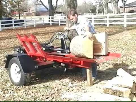 Home Made Wood Splitter TN.wmv