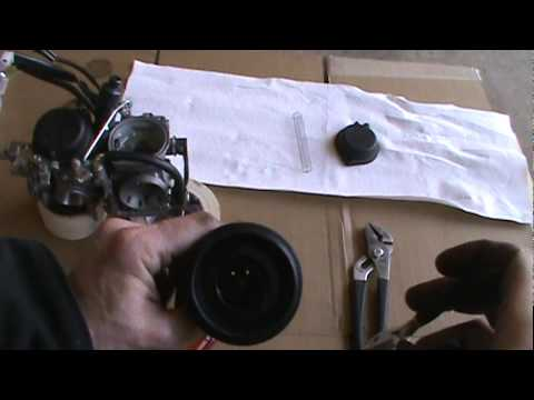2008 Yamaha V Star 1100 Hypercharger Install Part 2.mpg