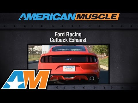 2015-2016 Mustang GT Ford Racing by Borla Exhaust Sound Clip Touring Catback Review