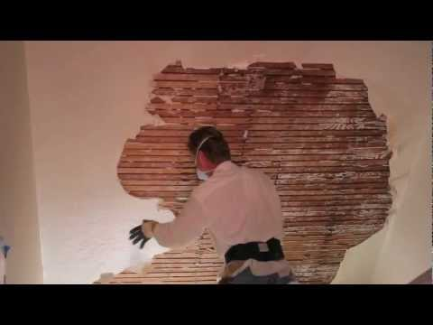 Remove And Repair Interior Plaster Walls Or Ceilings How To Save Money And Do It Yourself
