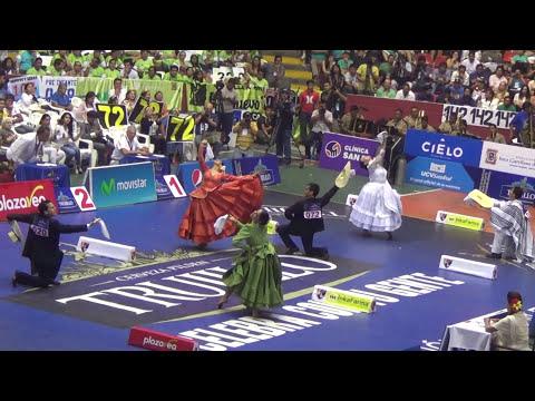 55 Concurso Nacional de Marinera 2015. Final Final Adulto. Carlos Pais y Gisela Gonzalez