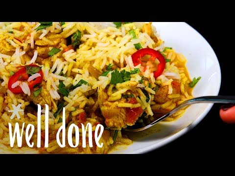 How To Make Chicken Biryani: The Easiest DIY Comfort Food With A Hint Of Spice | Recipe | Well Done