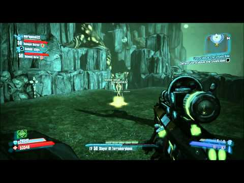 Borderlands 2 — Voracidous the Invincible -Glitch Kill Method