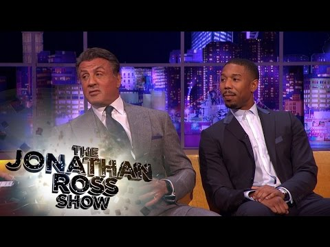 Sylvester Stallone Cruel Trick on Michael B. Jordan - The Jonathan Ross Show