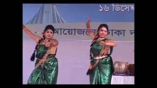 Aji Bangladesher Hridoy  Dance performance by Pinky Dance choreography , Canada_Calgary