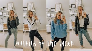 Outfits of the week/ what I wear to highschool