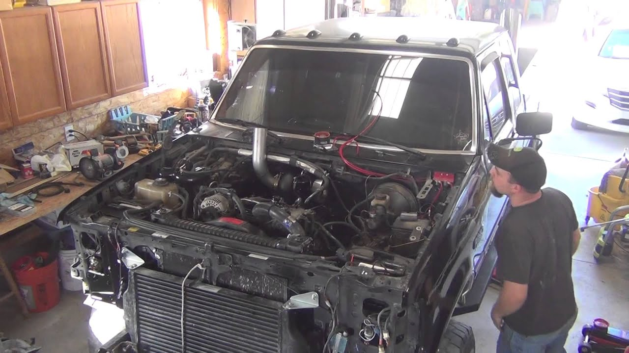 Full Force Diesel >> 7.3L Power Stroke 600hp first start with new motor - YouTube