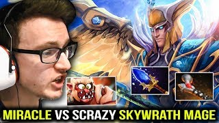Miracle Trollwarlord vs Scepter Skywrath Mage - INSANE MAGIC DMG Dota 2