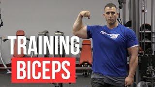 Grow Bigger Biceps - Use basic training methods to grow huge arms