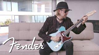 John 5 Demos The Fender American Elite Telecaster American Elite Fender