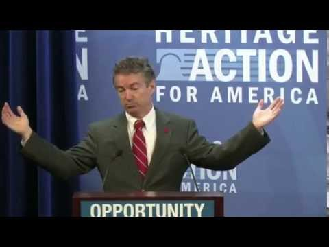 Conservative Policy Summit - Sen. Rand Paul, Defense Panel