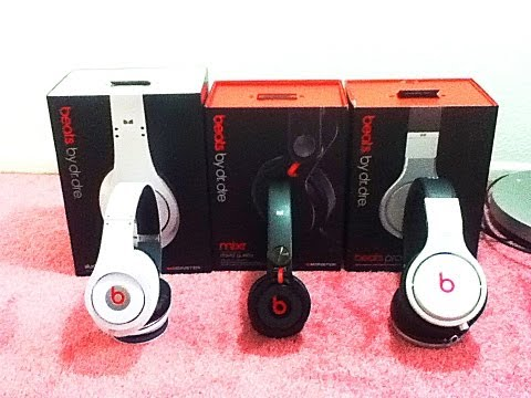 Beats by Dr Dre MIXR vs. STUDIO and PRO(HEADPHONES)